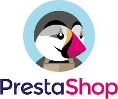 Prestashop e-commerce logo nuovo